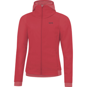 GORE WEAR R3 Windstopper Thermo Capuchon jas Dames, hibiscus pink